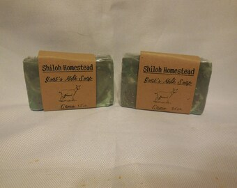 Camo Goats Milk Soap