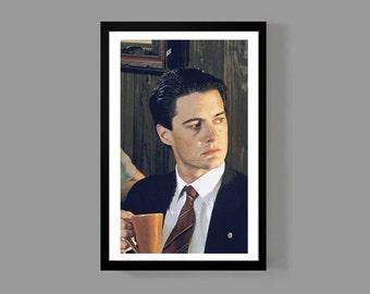 Twin Peaks - TV MOVIE Poster Print - Dale Cooper - David Lynch Laura Palmer TV Movie Cult Classic Retro 90's