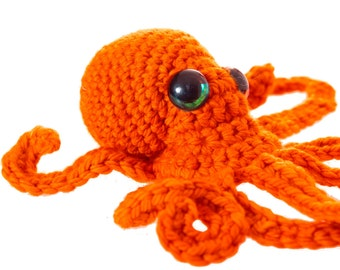 Realistic Octopus crochet pattern PDF - Rights Free!