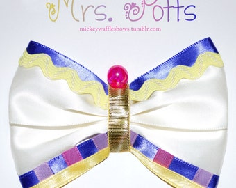 Mrs. Potts Hair Bow