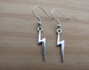Lightnig Bolt Earrings
