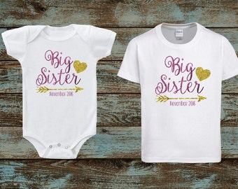 Promoted To Big Sister, New Baby announcement