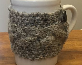 Knitted Cup Cozy, Coffee Cup Cozy, Coffee Cozy, Stocking Stuffer, Mug Cozy, Tea Cup Cozy, Christmas