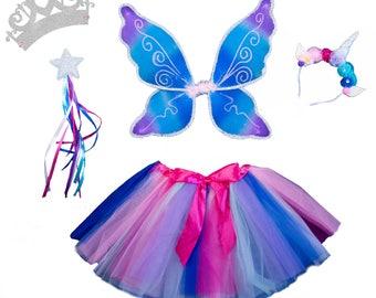 Magical Unicorn Sparkling Fairy Princess Set