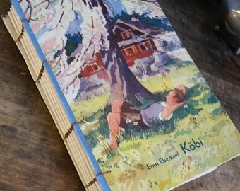 Vintage Book Cover Journal - Kobi - 5 x 7 by The Orange Windmill on Etsy 1682