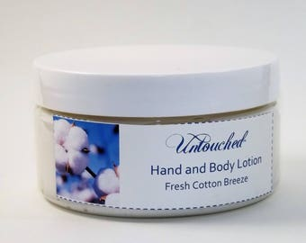 Fresh Cotton Breeze Shea, Mango and Cocoa Butter Hand and Body Lotion