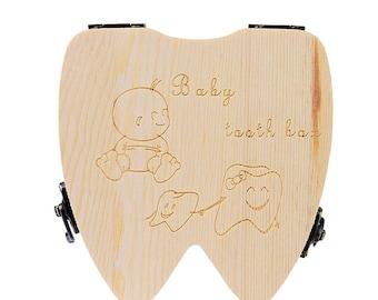 Baby Tooth Keepsake Box