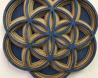 Seed of life wall Mandala