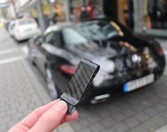 Carbon Fiber Style Money Clip - VeneerXs