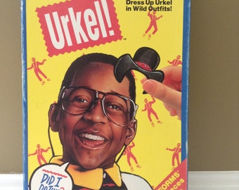 Vintage Steve Urkel - Family Matters Playset - Dress Up Urkel