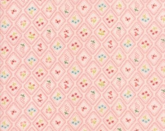 Moda Fabrics - Home Sweet Home Pink (20576 12) designed by Stacy Iset Hsu for Moda Fabrics