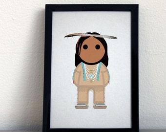 Card 069·M Ojibwa Man