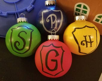 Hogwarts Houses Ornaments