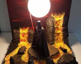 Destash! unique star wars Darth Vader lamp