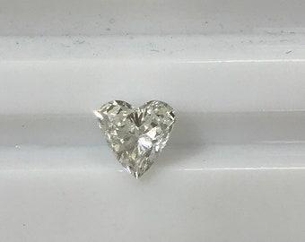1 Carat Heart Shaped Loose Diamond SI2 F