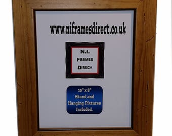 40mm  Distressed Pine Wooden Frame, Made to Order, You Pick the Size
