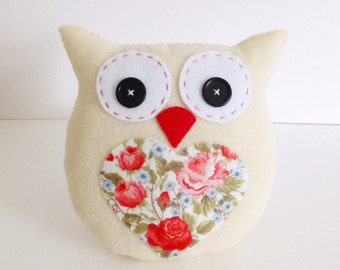 Lavender Scented Owl pdf Sewing Pattern