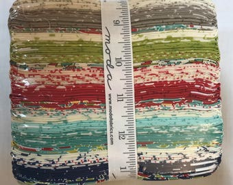Moda Hometown Girl Prints Fat Quarter Bundle by Pat Sloan