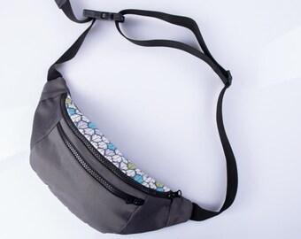 Belt bag feather,Canvas Fanny Pack,Travel belt Pouch,Belt men hip pouch,Festival bag,Fanny pack men,Belt Waist bag gift,Hip pack men