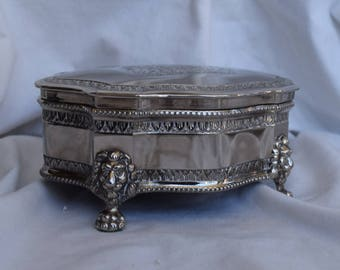 English jewelry box Etsy