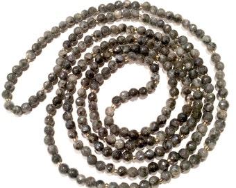 Labradorite Double Wrap Necklace