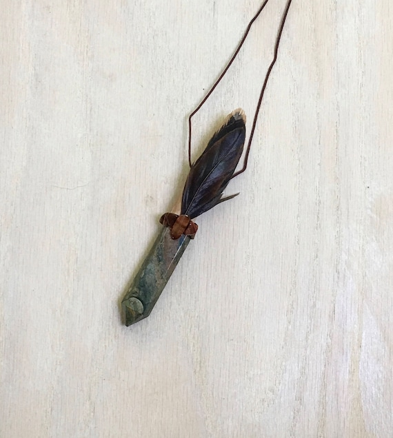 Mimosa, Picasso Jasper, Tiger Eye & Rooster Shamanic Traveling Wand OOAK Healing Pendant, Native American Reiki Energy, Magic Wand OOAK