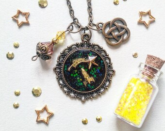 31) necklace to the stars and back