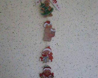 gingerbread Christmas decoration Garland
