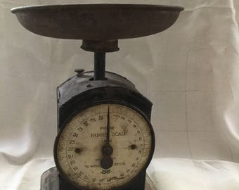 Vintage Hughes Salter  Family Scales