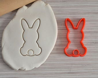 Easter Bunny cookie cutter - Easter cookie cutter - Rabbit cookie cutter - Bunny cookie cutter