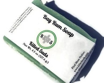 Bay Rum Bar Soap | Mens Soap | Vegan Bar Soap | Palm Free Soap