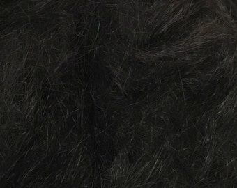 Angelina Spinning Fiber, 1/2 oz., Synthetic, Sparkle, Bling, Add-in, sparkle add in, angelina fiber - Black .5 oz