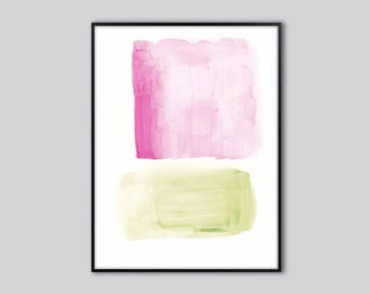 Downloadable print, last minute gift, PRINTABLE abstract wall art for bedroom, original modern art, abstract art painting, free shipping