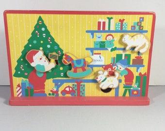 Les pièces mobiles anatomiques finissent par Noël boîte à musique. Toyland