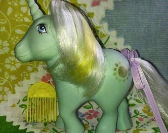 Vintage My Little Pony Sunbeam G1 Unicorn, 80's