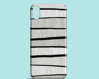 Stripes Pattern mobile phone case / iPhone X, iPhone 8, iPhone 7, iPhone 7/8 Plus, iPhone SE, iPhone 6S, iPhone 6, iPhone 5S, iPhone 5