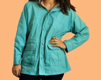 25% OFF 90s Aquamarine Queen Coat OSFM
