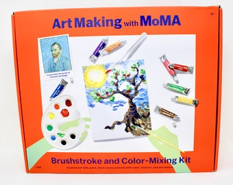 Brushstroke and Color-Mixing Kit (Dented Box)