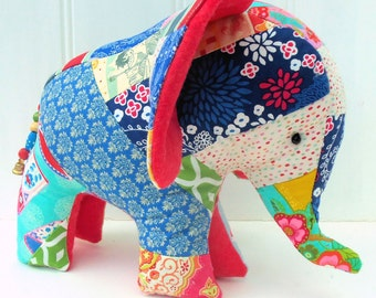 Charlie the Patchwork Elephant