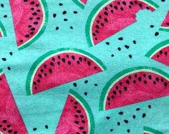 Watermelon Print Extra Large Receiving Blanket | Watermelon Baby Blanket