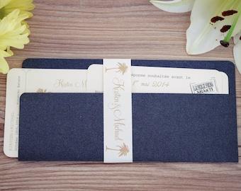 Boarding pass invitations, Destination invitation, boarding pass wedding invitation, Travel Invitation, Boarding pass invitation,  handmade