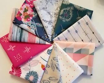 Fabric Bundle Art Gallery Fabrics Bachelorette  - 10 Different Fabrics