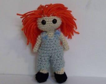Crochet Autumn Doll pattern