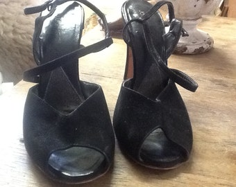 Vintage 1950's Joseph Magnin Strappy Shoes