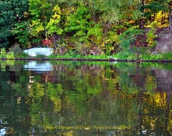 Autumn Boat (14x11)
