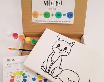 Fox Paint Kit