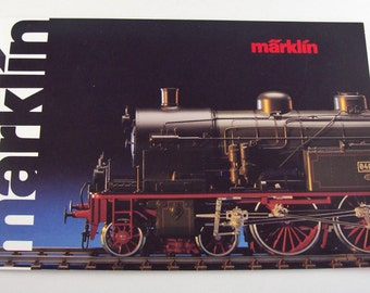 Vintage MARKLIN Club Advertising Brochure Full Color