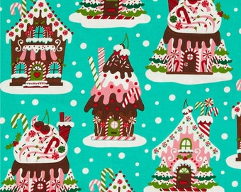 NEW Holiday Gingerbread Houses by Michael Miller Fabrics