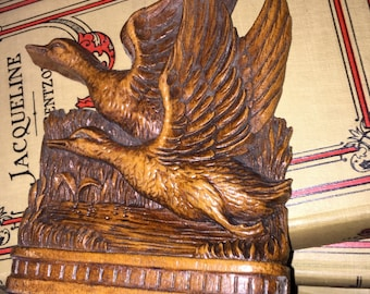 Antique Flying Geese Bookend