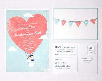 Personalizable e imprimibles boda invitan y RSVP tarjeta de DIY